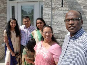 Deepak, Maria & Children